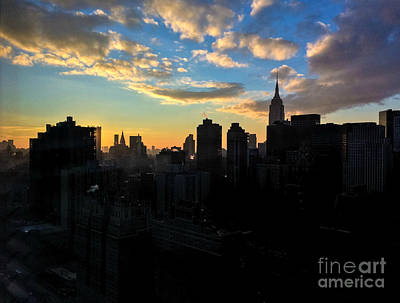 Photograph - Empire State The Magnificent by Miriam Danar