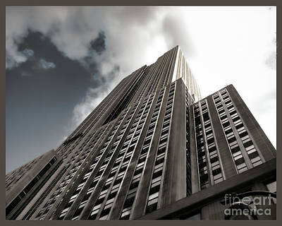 Photograph - Empire State - Vertigo In Reverse2 by Luther Fine Art