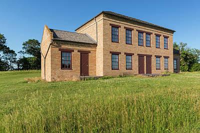 Brick Duplex Photograph - Employee Duplex 1 by John Brueske