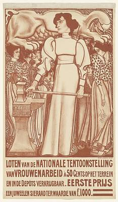 50 Cent Painting - Employment For Women by Jan Toorop