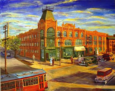 Le Coq Painting - Empress Hotel, Afternoon 1926 by Brent Arlitt