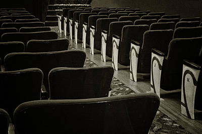 Photograph - Empress Theatre - 365-333 by Inge Riis McDonald