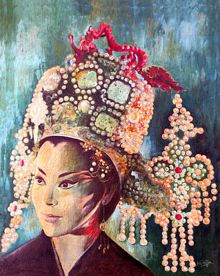 Painting - Empress Wu by Mai Griffin