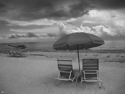 Sanibel Photograph - Emptiness by Jeff Breiman