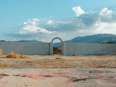 Photograph - Empty Alejo Lot by Stan  Magnan