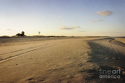 Photograph - Empty Beach At Sandy Hook by Debra Fedchin