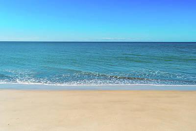 Photograph - Empty Beach by Brett Christensen