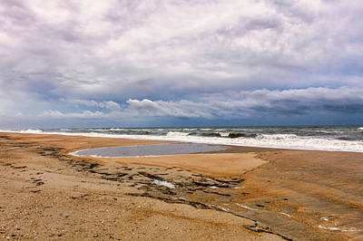 Photograph - Empty Beach On The Outer Banks by Dan Carmichael