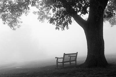 Photograph - Empty Bench by Monte Stevens