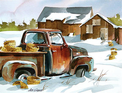Painting - Empty Bushels by Art Scholz