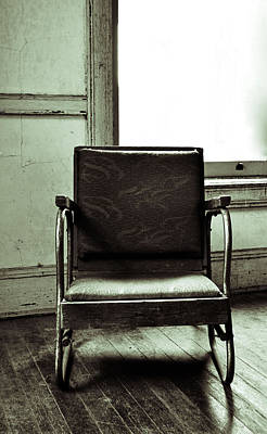 Photograph - Empty Chair by Holly Blunkall