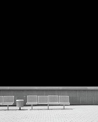 Photograph - Empty Chairs, Ottawa by Brooke T Ryan