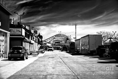 Photograph - Empty Cyclone by John Rizzuto
