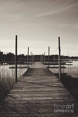 Photograph - Empty Dock by Graesen Arnoff