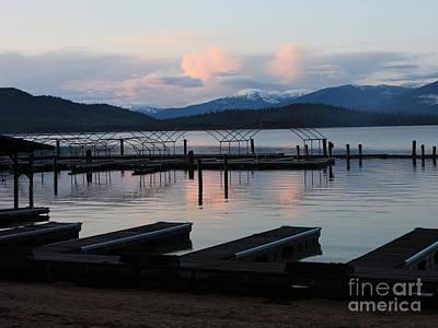 Photograph - Empty Docks On Priest Lake by Carol Groenen