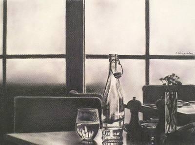 Empty Glass Art Print