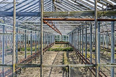 Empty Greenhouse Art Print