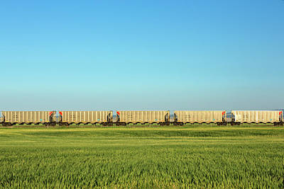 Photograph - Empty Hoppers by Todd Klassy