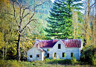 Photograph - Empty House by Adria Trail