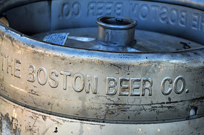 Photograph - Empty Keg by Mike Martin