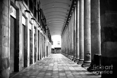 Photograph - Empty La Boqueria by John Rizzuto