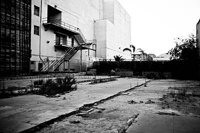 Thomas Kinkade Royalty Free Images - Empty Lot in Hollywood Royalty-Free Image by Robert J Caputo