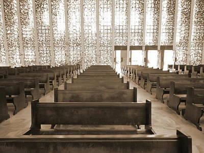 Photograph - Empty Mass by Beto Machado