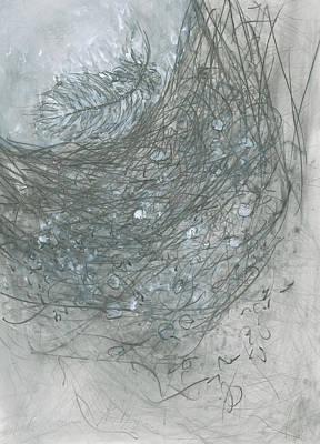 Mixed Media - Empty Nest by Christine Alfery