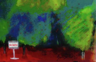 Empty Orchard Art Print