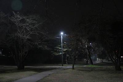 Empty Park Art Print