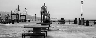 Photograph - Empty Pier by Michael Hope