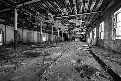 Photograph - Empty Room by Michael Porchik