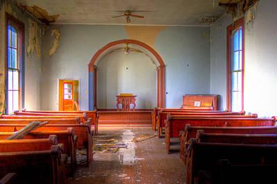 Photograph - Empty Service by Jonny D