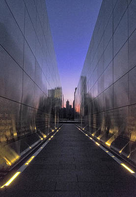 Photograph - Empty Sky 911 Memorial by Tom Singleton