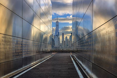 911 Memorial Photograph - Empty Sky Memorial by Rick Berk