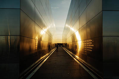 Photograph - Empty Sky Memorial Sunset by Dave Files