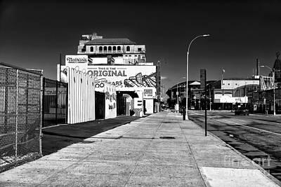 Photograph - Empty Stillwell Avenue by John Rizzuto