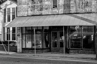 Empty Store Art Print by Tim Wilson