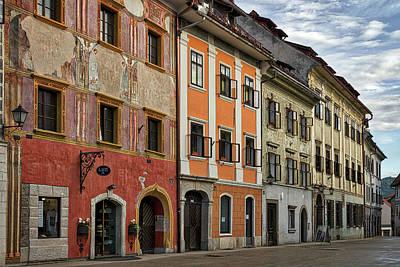 Photograph - Empty Street In Slovenia by Stuart Litoff