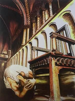 Painting - Empty Throne by David Rhys