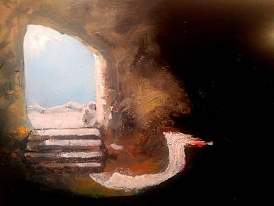 Painting - Empty Tomb by Gary Smith