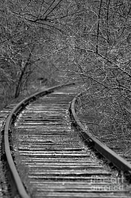 Empty Tracks Art Print