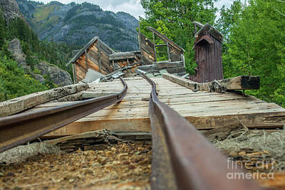 Photograph - Empty Tracks by Tony Baca