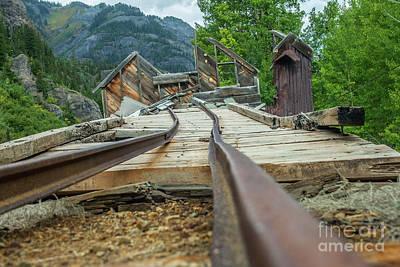 Photograph - Empty Tracks by Tony Baca
