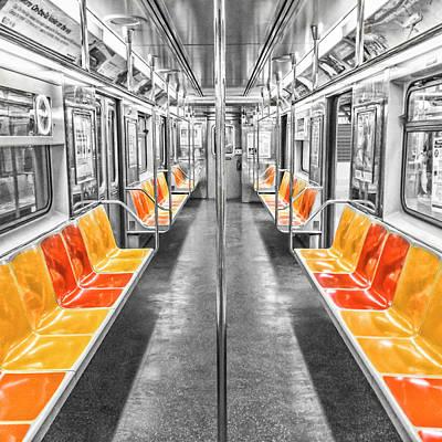 Photograph - Empty Train by Jakob Dahlin