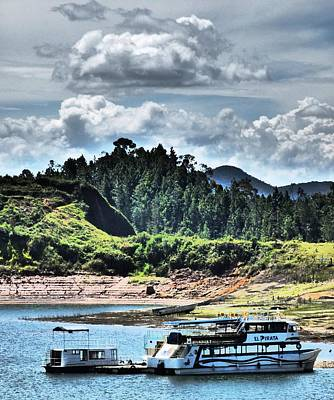 Guatape Photograph - Empty Vessels by Michael Cook