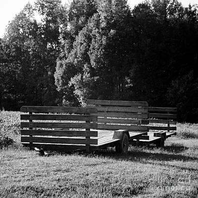 Photograph - Empty Wagons by Patrick M Lynch