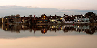Photograph - Emsworth At Dusk by Trevor Wintle