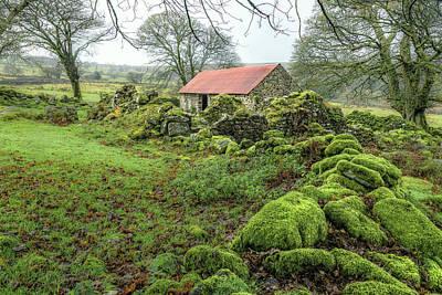 Gel Photograph - Emsworthy Farm - Dartmoor by Joana Kruse