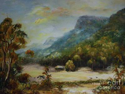 Emu Plains, Grampians Art Print